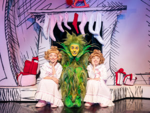 Bebe Massey & Eve Corbishley star as Cindy Lou in UK Premiere of How The Grinch Stole Christmas