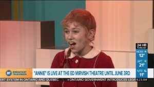 Stagebox British duo fly to Toronto to star as Annie in Canadian production